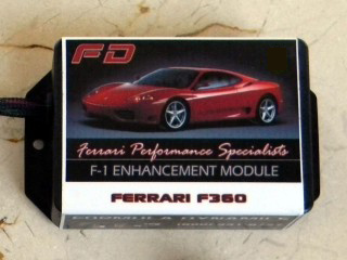 F-1 Enhancement Module F-1 Enhancement Module for Ferrari F360.  Unleashes improved response, clutch engagement and wear.