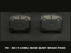 2014 Base Model Quiet / Low Dust / Extended Wear Street Brake Pads Quiet, Low Dust, Extended Wear <u>Street Brake Pads</u> for 2014 Maserati Ghibli Base Model