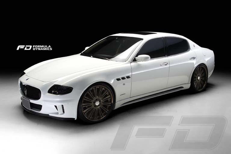 Qp Maserati Quattroporte Corsa Body Kit