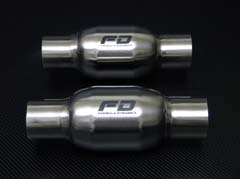 Sport Catalytic Converters Noticable Improvement in Torque / Horsepower from this weld-in replacement.