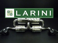 Larini Systems Exhaust High Performance Stainless Steel Larini Systems Exhaust for Ferrari