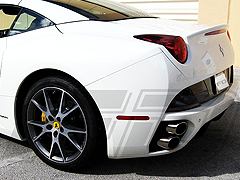Ferrari California Spoiler Trim Package Formula Dynamics performance Spoilers, Wings and Side Skirts for your Ferrari California