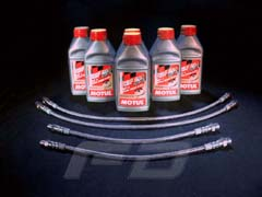 Stainless Steel Braided Brake Line Kit <b><u>Street Legal</u></b> Stainless Steel Braided Brake Line Kit for Maserati 3200 Coupe.